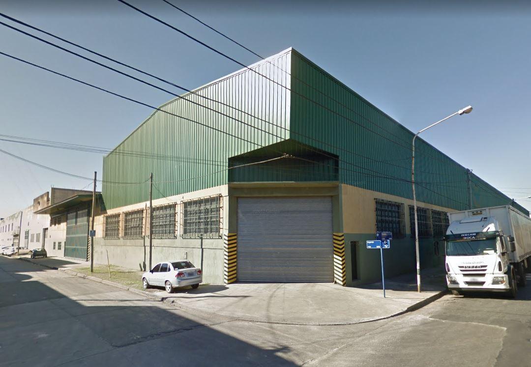Galpón 5800 m² Cub   1900 m² Playa de Maniobras C/Red anti incendios – Zapiola 3700 – San Justo